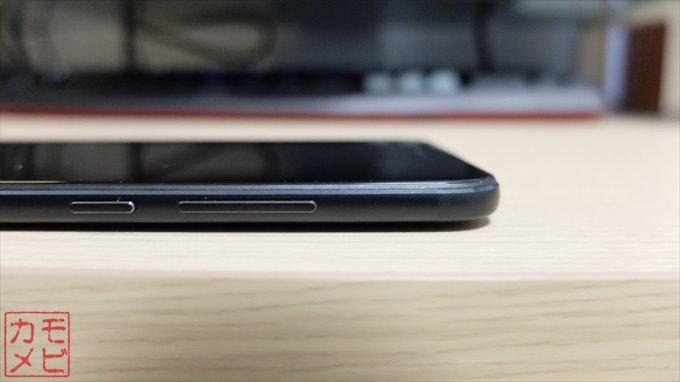 Xiaomi MiA1 背面カメラ出っ張り