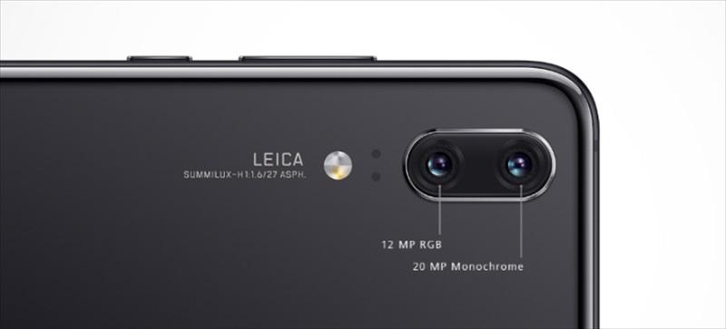 Leicaのダブルレンズカメラを搭載した『HUAWEI P20』