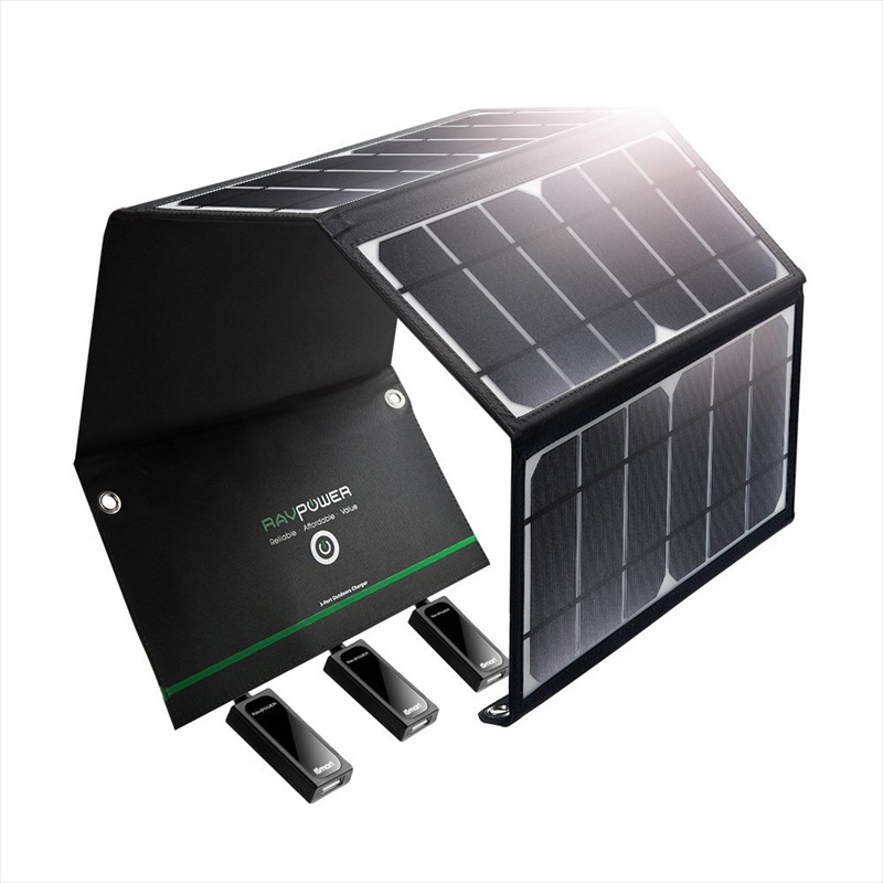 RAVPower ソーラーチャージャー RP-PC005