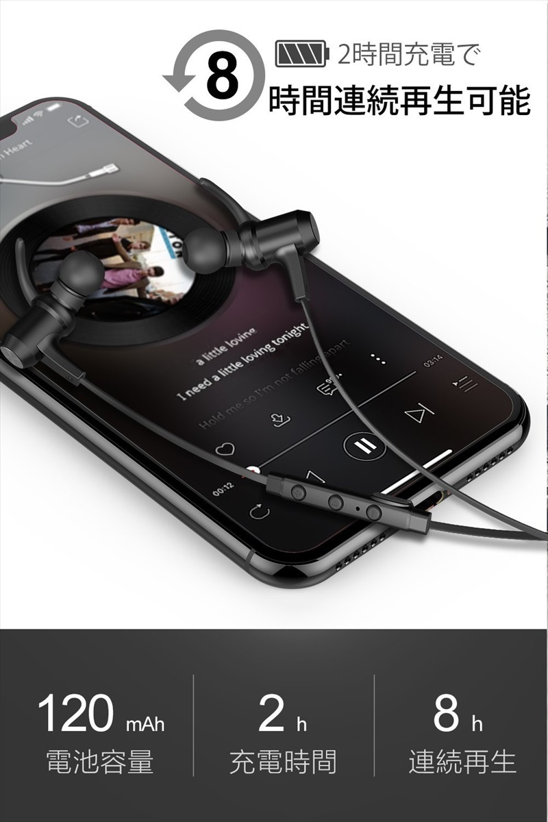 Bluetooth ワイヤレスイヤホン VAVA MOOV 28