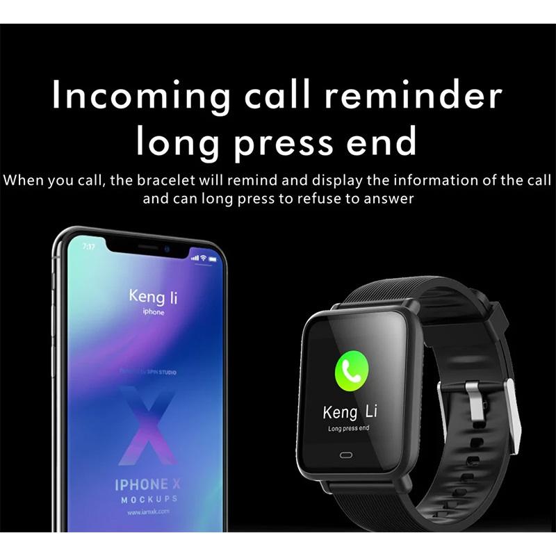 Q9 AppleWatchライクなスマートウォッチ