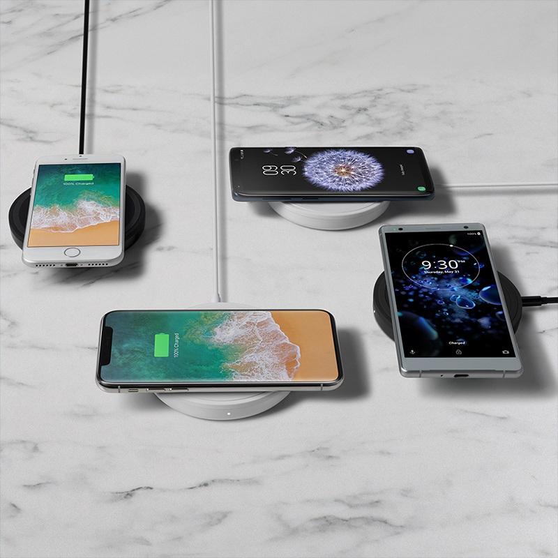 belkinがiPhone対応急速充電BOOSTUPボールドワイヤレス充電パッド発売