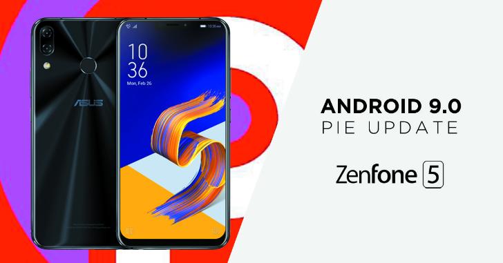 ZenFone5(ZE620KL)にAndroid 9 Pieが配信中