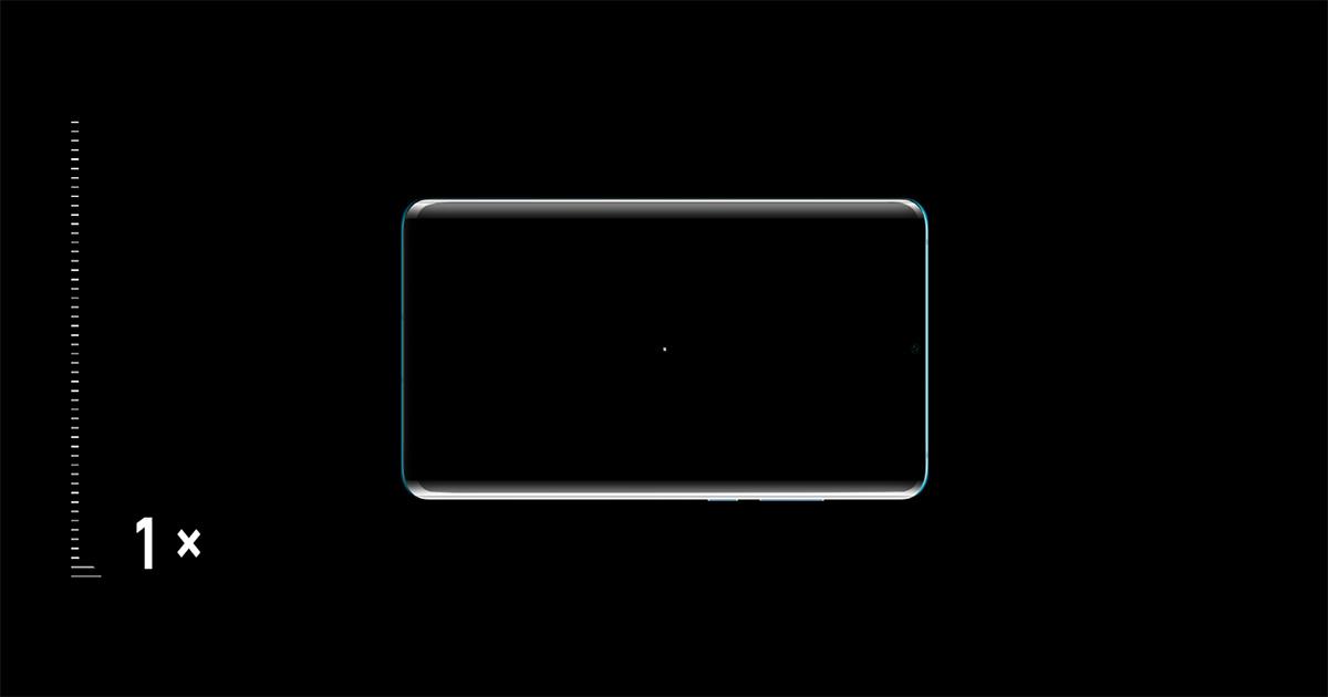 Huawei P30 Proのカメラズーム機能