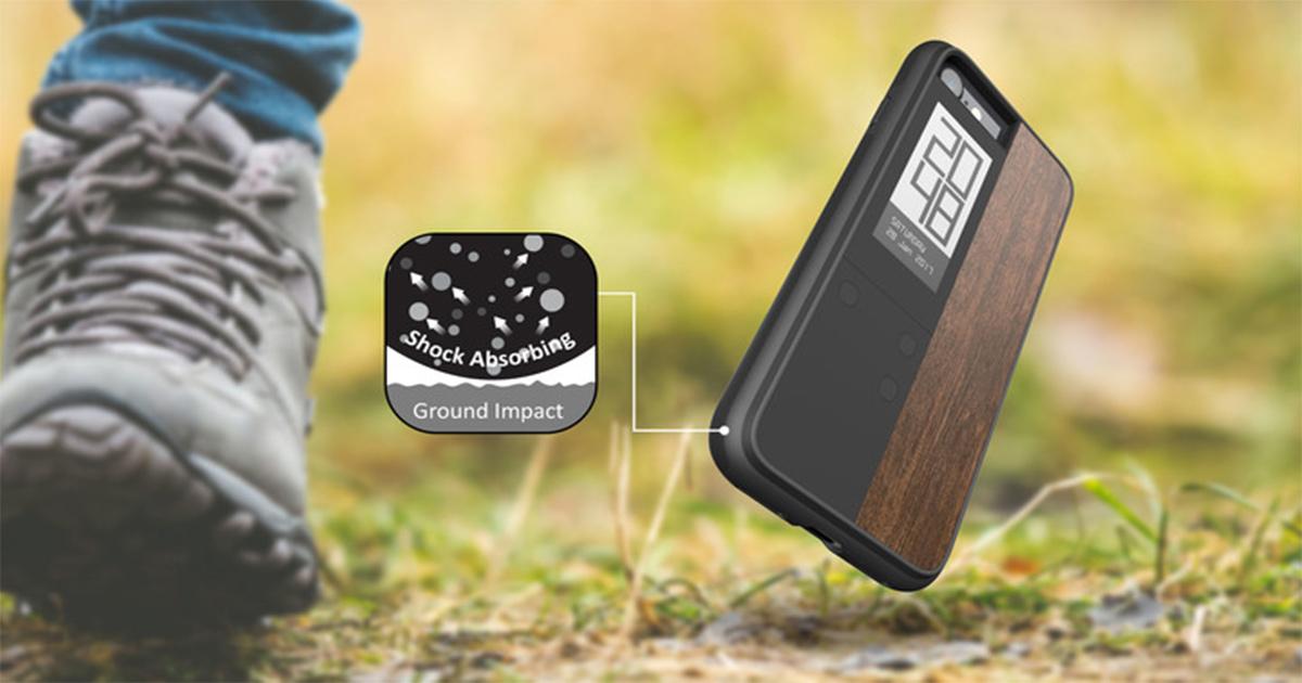 Eインクスクリーンを搭載したiPhoneケース『Inkcase IVY for iPhone』