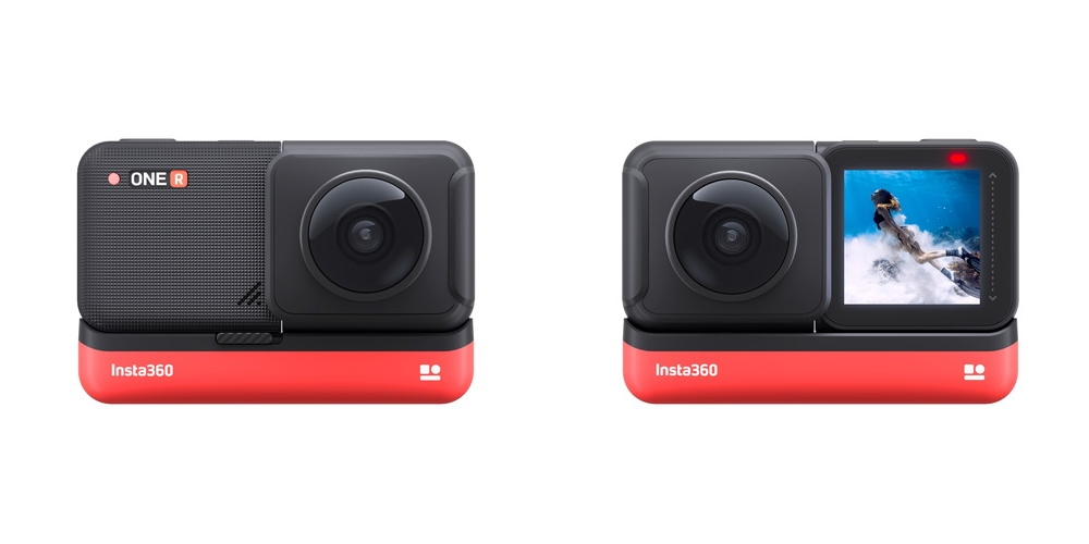 Insta360 ONE R 360度スタイル