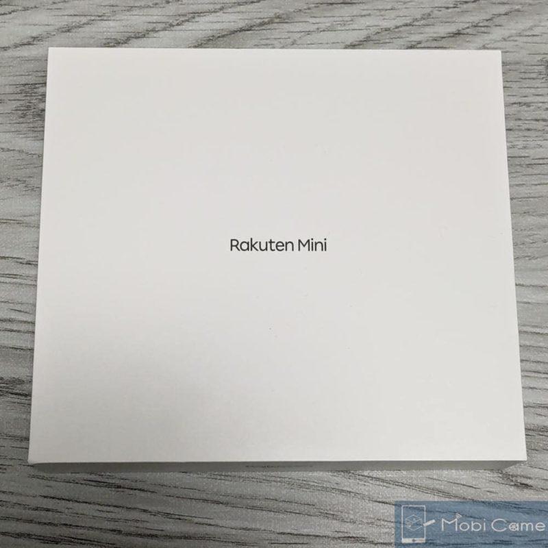 RakutenMiniの製品箱