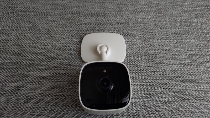 TP-LinkのネットワークカメラTapo C100の動作角度