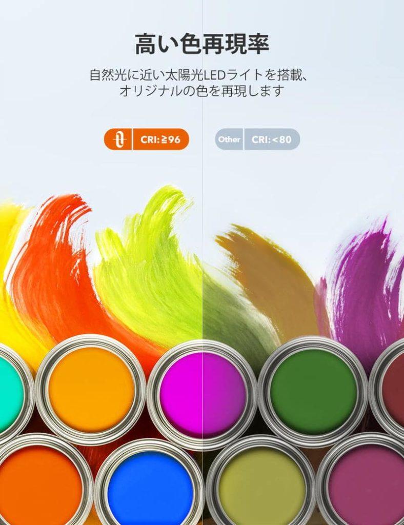 TaoTronicsデスクライトTT-DL092の色見本